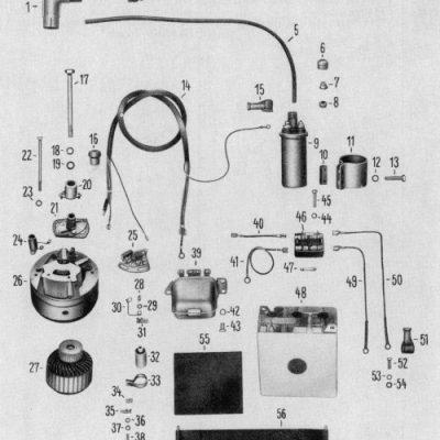 Generator, Battery, Coil