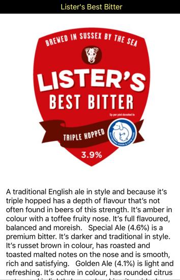 Lister's Best