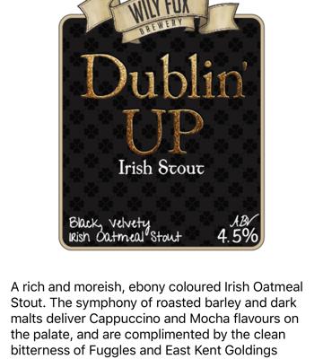 Dublin Up Stout