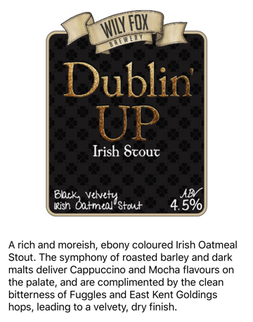Dublin Up Stout